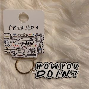 "🛋 FRIENDS ""HOW YOU DOIN?"" KEYCHAIN 🔑"